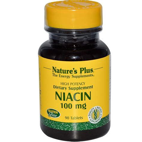 Niacin Detox Drugs by Nature S Plus Niacin 100 Mg 90 Tablets Evitamins Uk