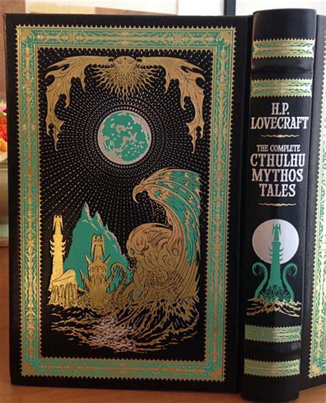 libro the complete cthulhu mythos leather cthulhu