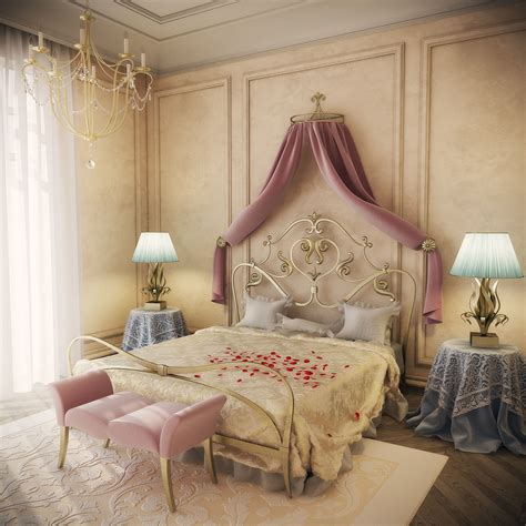 romantic bedrooms cgarchitect professional 3d architectural visualization