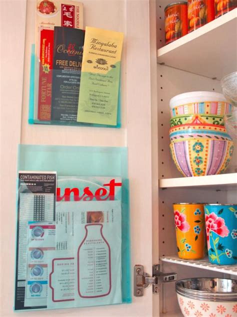 Plastik Olastic Organiser Tempat Penyimpanan Plastik Hanging Mesh 6 tips for organizing your kitchen junk drawer hgtv s