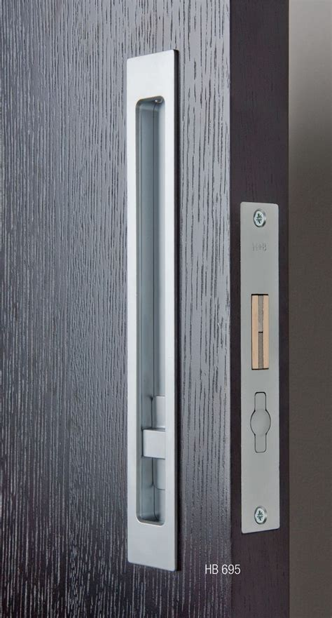 sliding door hardware hb695 privacy lock halliday baillie barn doors hardware
