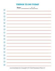 list templates printable free printable to do list template checklists to help