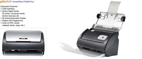 scanner plustek ps286 plus document scanner plustek smartoffice ps286 plus
