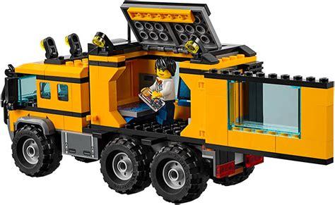 Lego City 60160 Jungle Mobile Lab lego 60160 jungle mobile lab i brick city