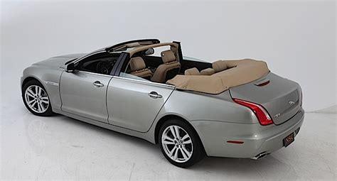 four door jaguar nce converts new jaguar xj into a four door convertible