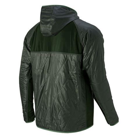New Balance Hybrid Jacket lyst new balance nb heat hybrid jacket in black for