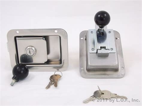 Trailer Door Lock by Door Latch Trailer Door Latches