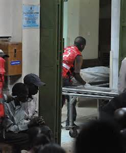 Morgue Assistant by Somali Islamists Execute 28 Non Muslims On Kenya Daily Mail
