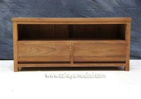 Meja Tv Murah Di Pekanbaru bufet tv minimalis murah kayu jati toko furniture jepara