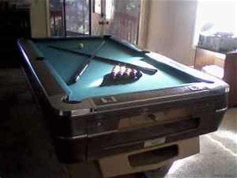 billiards forum irving kaye table parts