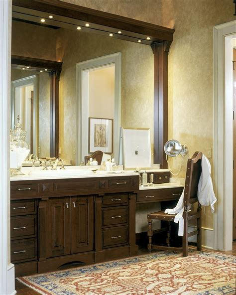 bathroom with makeup vanity magnificent metal makeup vanity decorating ideas gallery in bathroom traditional
