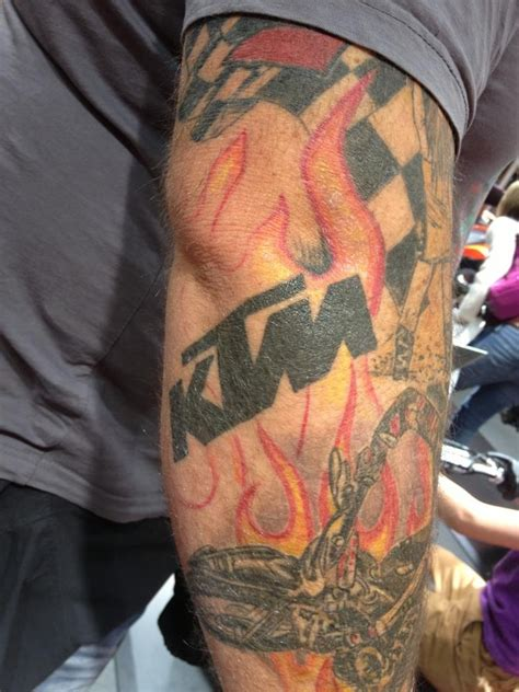 motocross tattoo dirt bike show of the day motocross sleeve
