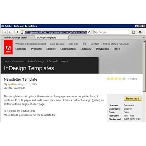 indesign newsletter templates free indesign newsletter templates you can use for your