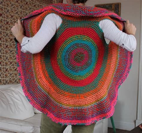 chaleco redondo crochet patron a crochet chaleco redondo pictures to pin on pinterest