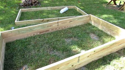 quickly easily build raised bed garden frames