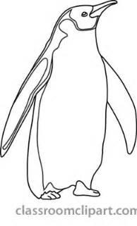 Emperor Penguin Outline by Penguin Outline Clip