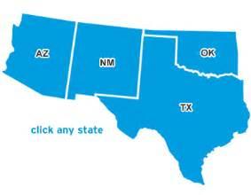 across america southwest