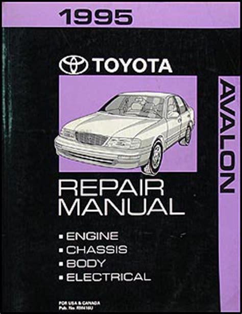 1995 toyota avalon repair shop manual original