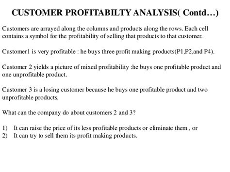 Customer Profitability Analysis Crm Ppt Customer Profitability Analysis Template