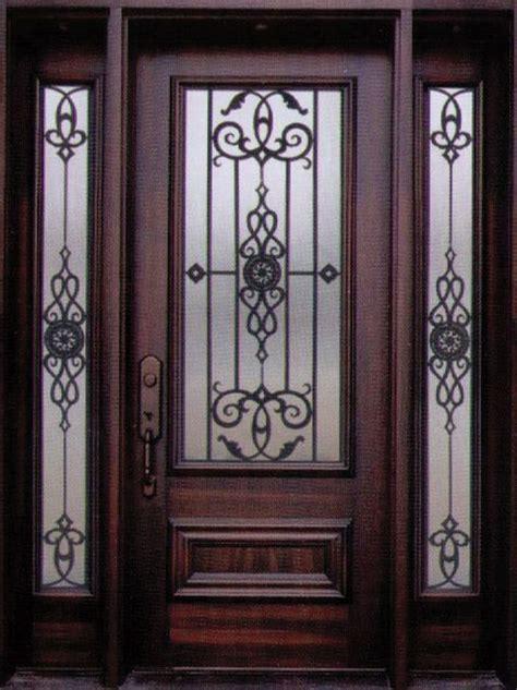 Decorative Wrought Iron Doors - best 25 iron front door ideas on wrought iron