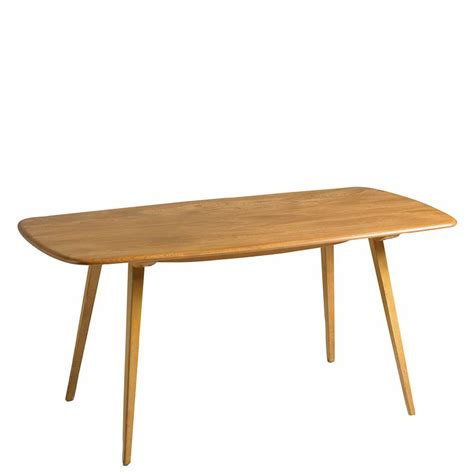 Plank Table by The Ercol Originals Plank Dining Table Barker And