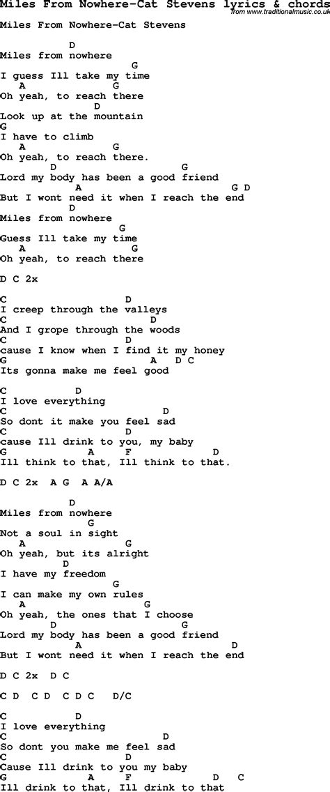 cat song lyrics song lyrics for from nowhere cat with