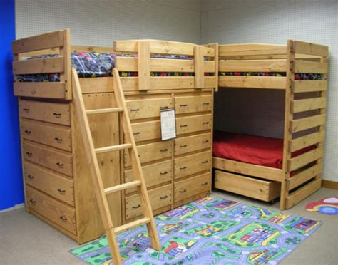 triple bunk plans bunk beds twin  full
