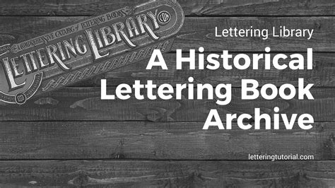 lettering tutorial book lettering library a historical lettering book archive