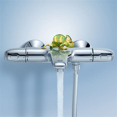 Shower And Bath Mixer grohe grohtherm 1000 new thermostatic bath mixer wall
