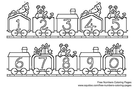 coloring page number 14 numbers coloring pages bebo pandco
