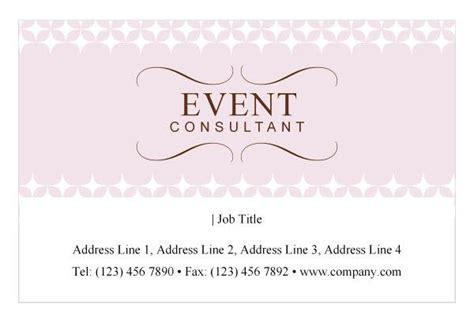 design event card event planner business card idea quot land the job quot design