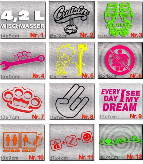 Sticker F Rs Auto Tuning by Dub Style Aufkleber Set Tuning Auto Sticker Und Dub Szene