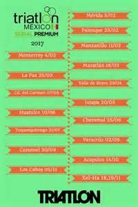 calendario 2017 de triatlones en m 201 xico