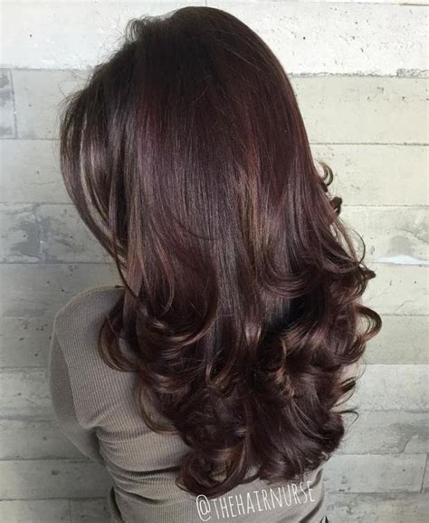 shoulder length hair with layers at bottom 25 best ideas about curled ends on pinterest chestnut