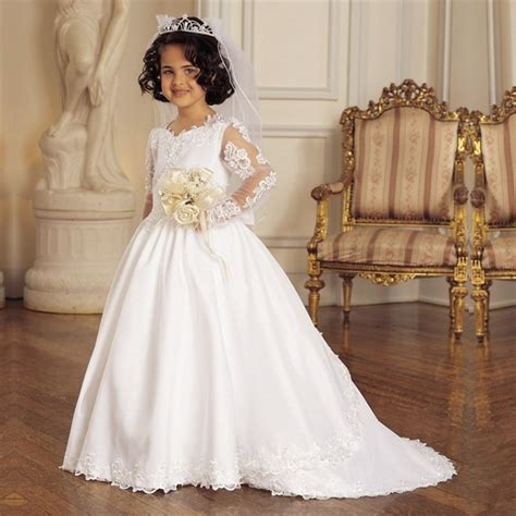 White Frock For Wedding by Aliexpress Buy New Communion Dresses 2015