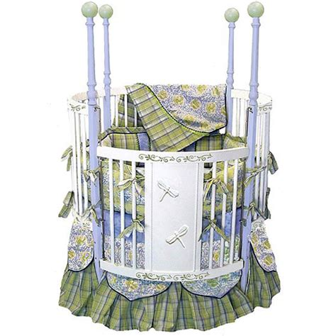 Circle Cribs by Dragonfly Dreams Crib And Nursery Necessities In