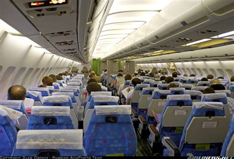 A310 Cabin by Airbus A310 304 S7 Siberia Airlines Aviation Photo