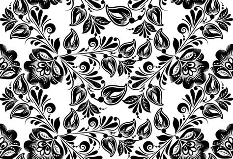 russian pattern vector vector floral background russian traditional stock vector