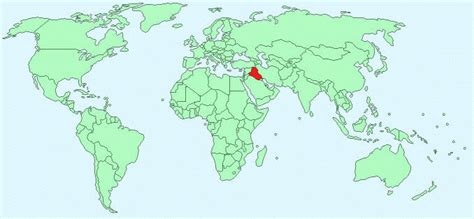 baghdad map world iraq facts and figures
