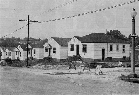 post world war ii prefabricated aluminum and steel houses dogtown kraft ave subdivision