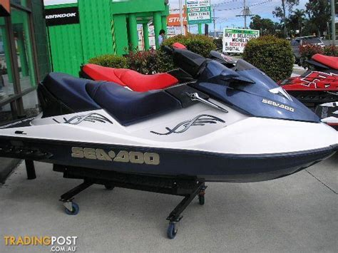 sea doo boat 500 hp sea doo gtx 4 tec supercharged my04 for sale in arundel