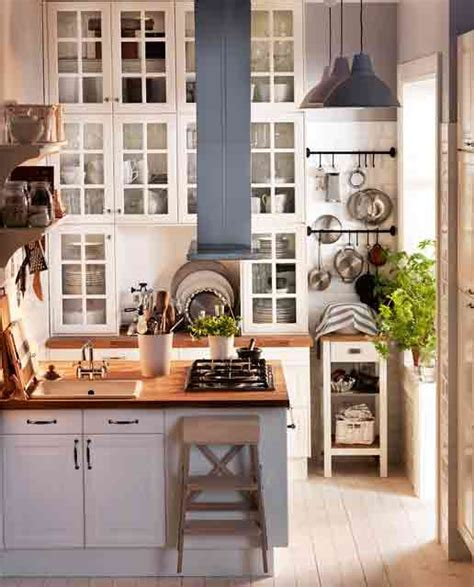 Ikea Kitchen Design For A Small Space by 33 Cool Small Kitchen Ideas Digsdigs