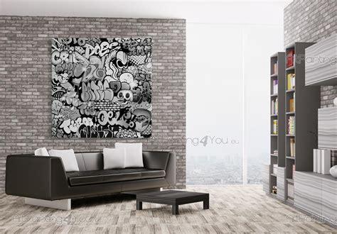 poster mural papier peint graffiti tag artpaintingyou
