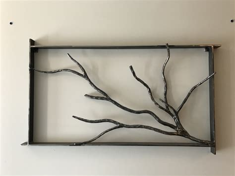 unique branch wall art decor forged tree branch wall art burdette ironworks