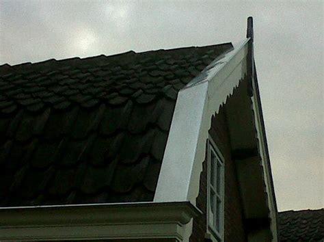dakgoot repareren almere windveren voorzien van zink en aansluiten regenton op