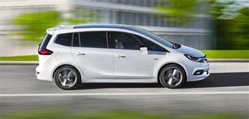 Opel Zafira 2017 Opel Zafira Facelift Unveiled Photos 1 Of 8