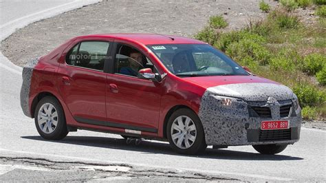 2017 Dacia Logan Sedan Wagon Spy Shots Could Indicate New