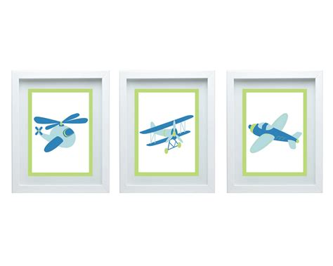 Aviation Nursery Decor Airplane Nursery Decor Airplane Print Wall Aviation