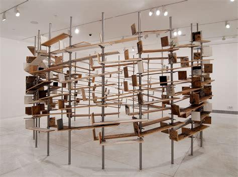 designboom installation chanan de lange ex libris
