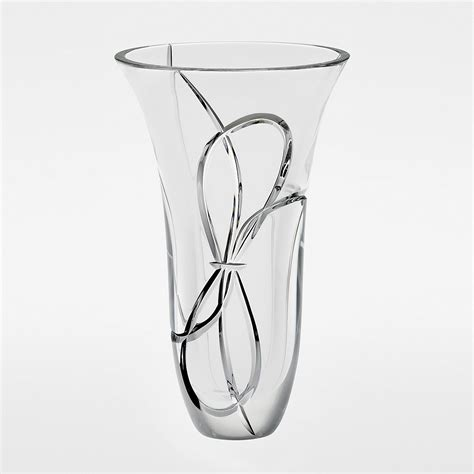 Vera Wang Vase by Vera Wang For Wedgwood Quot Knots Quot Vase 10 Quot Bloomingdale S